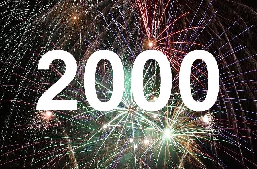 above 2000